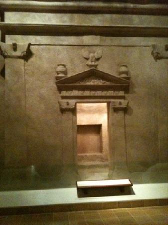National Museum: An ancient doorway