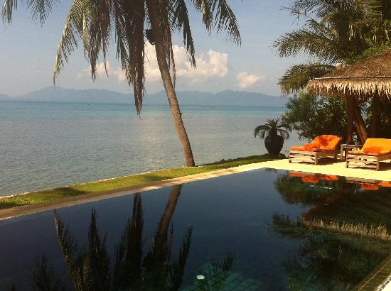 Belmond Napasai: View from private pool