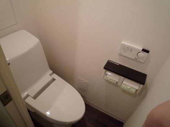 Hotel Vista Ebina : トイレ