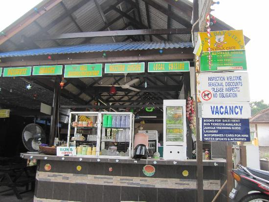 Nipah Bay Villa: fruit juice bar