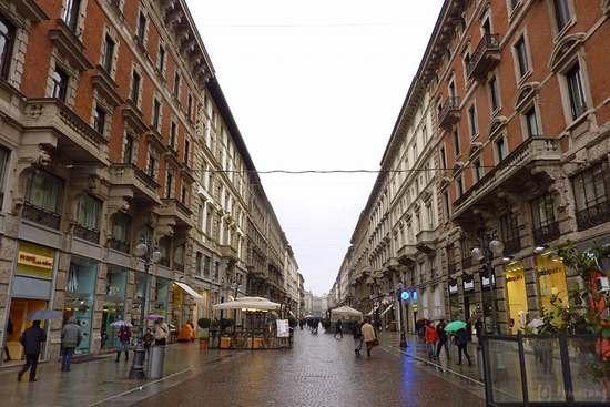 Milan, Italie : ミラノの街並み