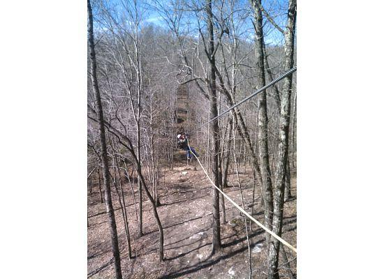 Mammoth Cave Adventures: Stuck out on the line