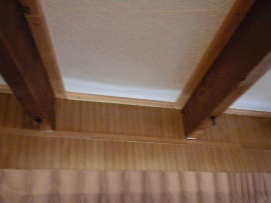Twilite Motel: Ceiling hooks - no light