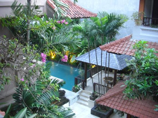 Bali Summer Hotel: バルコニーから撮った写真です。