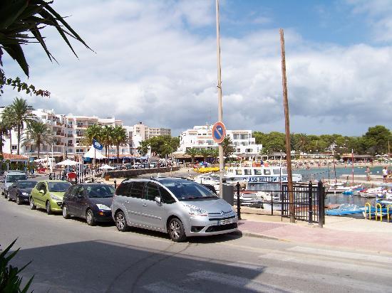 azuLine Hotel Atlantic : Es Cana Beach/ front
