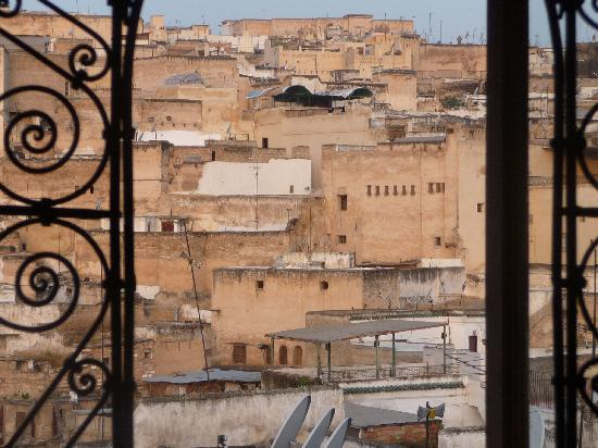 Dar Sienna: view from our window