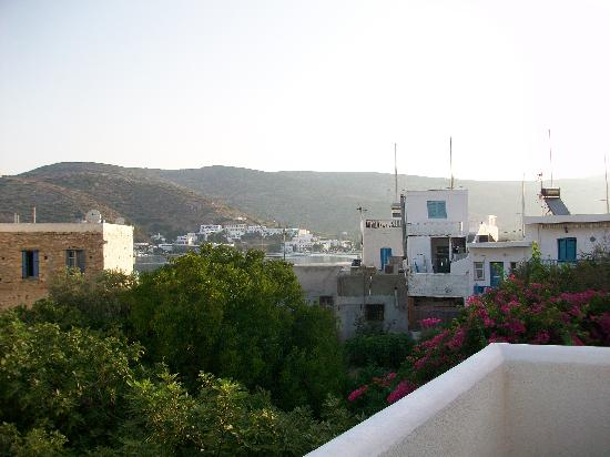 Landeris Hotel: View from the terrace