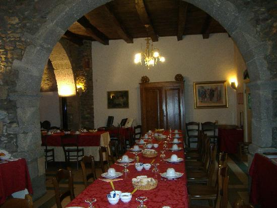 Santu Lussurgiu, Italien: la sala ristirante
