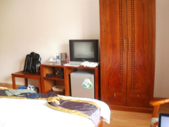 Au Lac Hanoi Hotel : Mein Zimmer