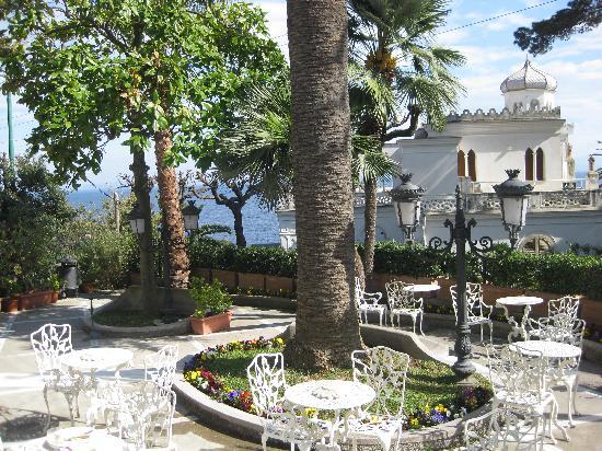 Luxury Villa Excelsior Parco : Vista de la terraza