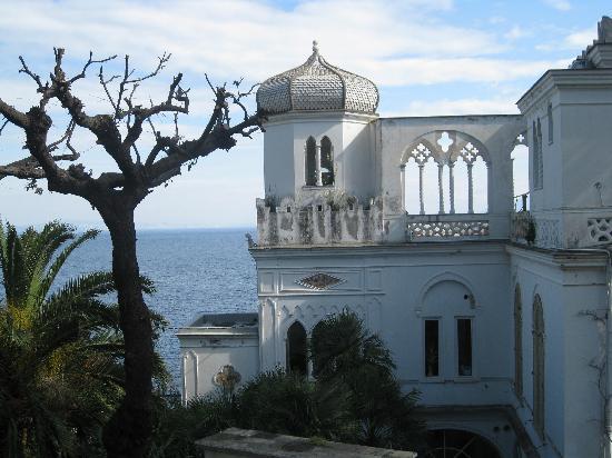 Luxury Villa Excelsior Parco : Vista desde la terraza