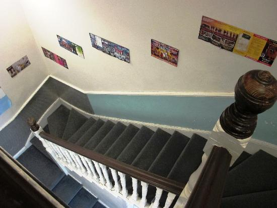 Astor Hyde Park Hostel : The stair way