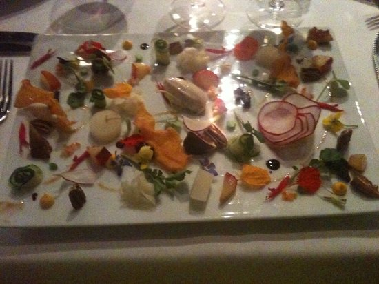 Arras: Fruit and Veg - my starter