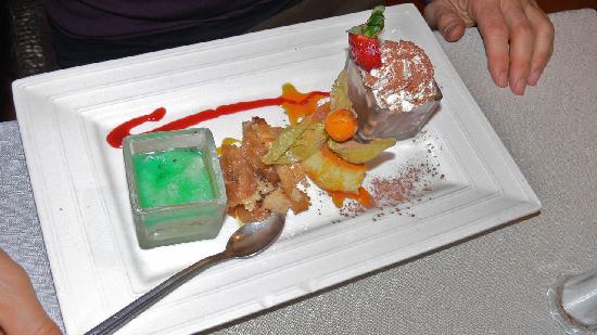 Au Flan Coco : dessert