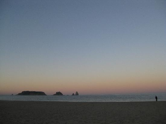 L'Estartit, Spanien: Sundown.