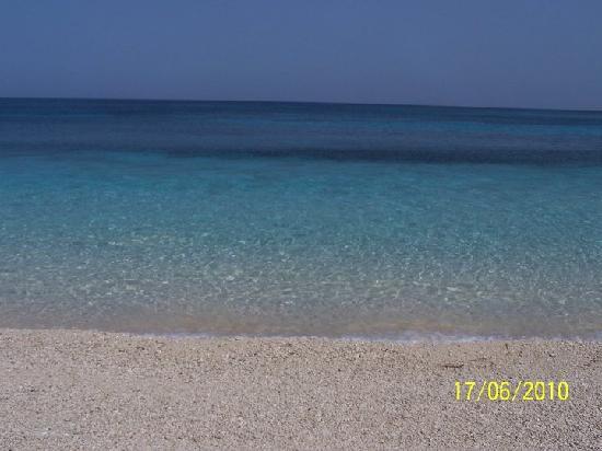 Lixouri, Grécia: clean water