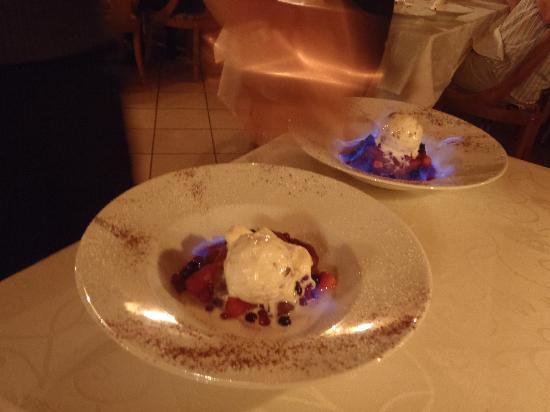 Auberge Ramstein: Dessert