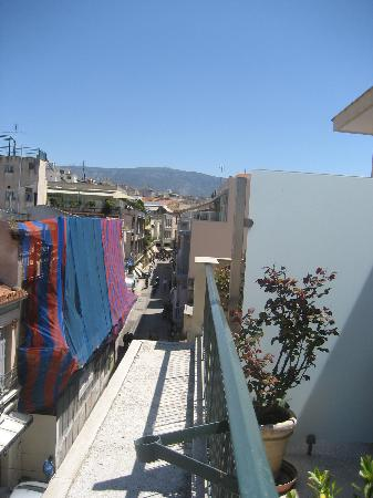 Adrian Hotel: View of Adrianou Street