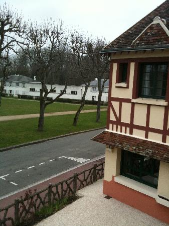 Hotel de la foret : View from our room