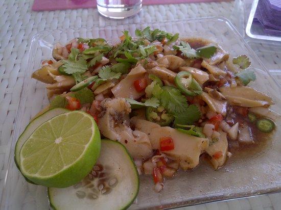 Punta del Mar: caracol rasurado