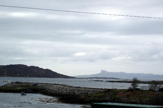 Arisaig, UK: View from the room