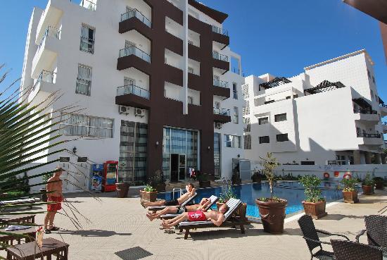 Appart-hotel Founty Beach : Excelente facade
