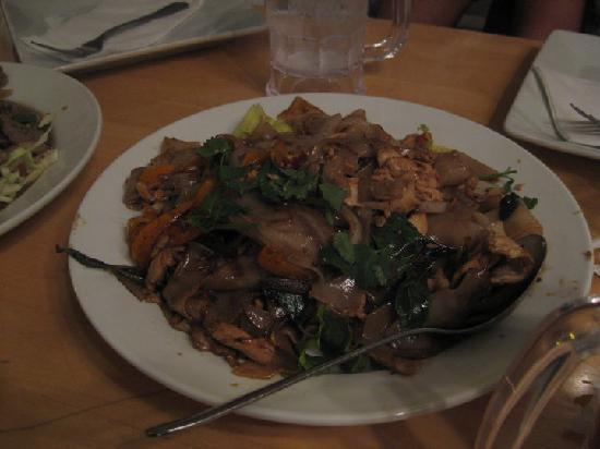 Thai Patio  Drunken Noodles