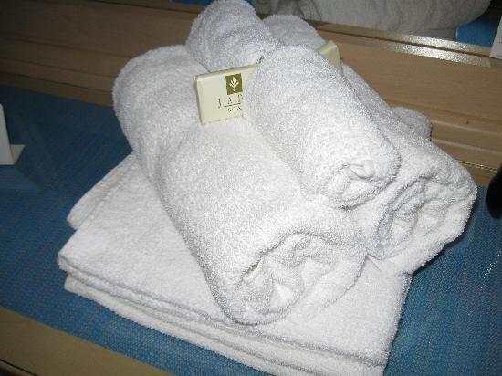 Caribbe Inn: Towels & soap