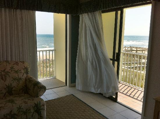 Surf Side Hotel : Two balconies at Surfside