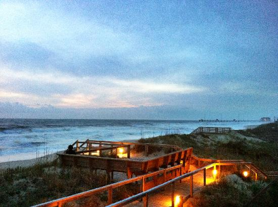 Surf Side Hotel Dawn At Surfside In Nags Head