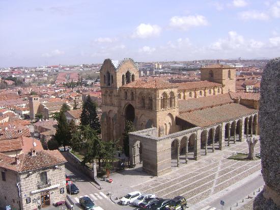 Ávila, España: Iglesia San Vicente