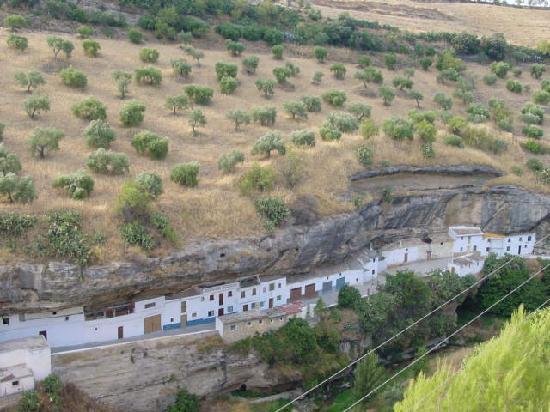 Hotel Villa de Setenil: Vista desde las habitaciones