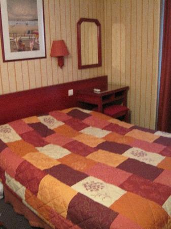 Maison du Pre: Bett