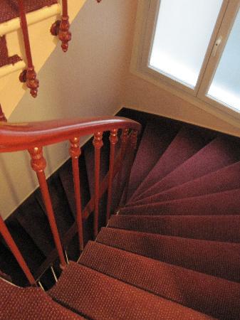 Maison du Pre: Treppe