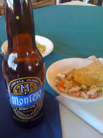 Flamingo's Seafood Restaurant: excellent beer and sideorders