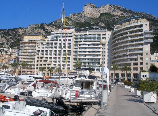 Monte-Carlo, Monaco: Hotel and Marina