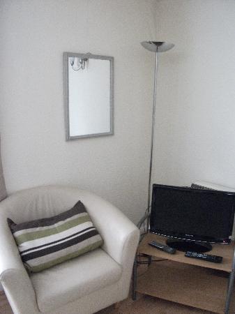 Palace Court Studios: The tv corner