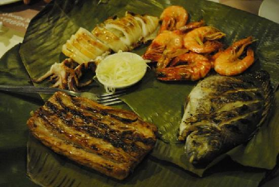 Panagatan Seafoods Restaurant: yummy food at low prices