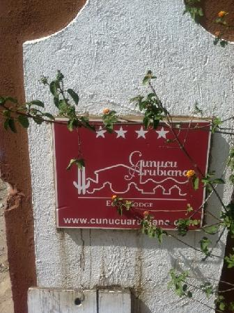 Cunucu Arubiano: Entrance