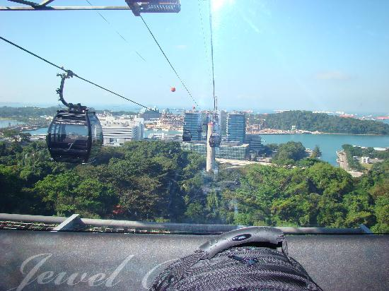 The St. Regis Singapore: Cable Cart to Santosa