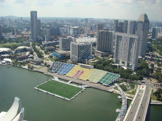 The St. Regis Singapore: Soccer Field in Harbour