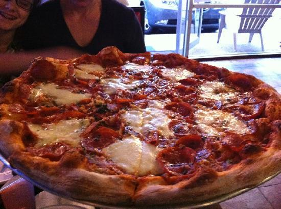 Fat Baby's Pizza & Subs: PY's Pie (Specialty Pepperoni Pizza)