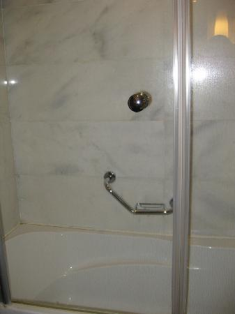 Dedeman Konya Hotel & Convention Center: Shower over bathtub