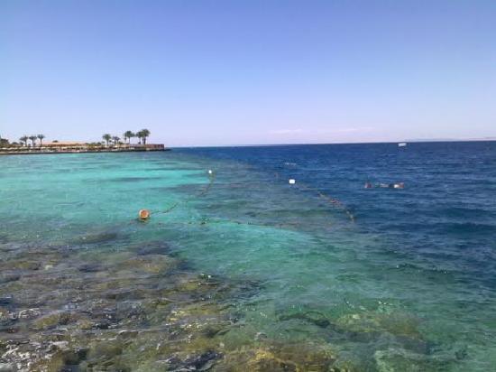 Arabia Azur Resort: view from the marine