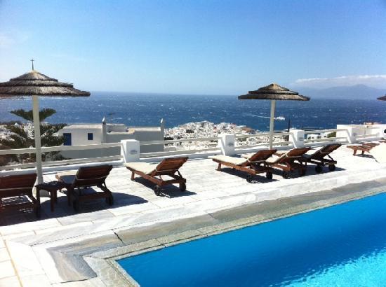 Alkyon Hotel: hotel swimming pool