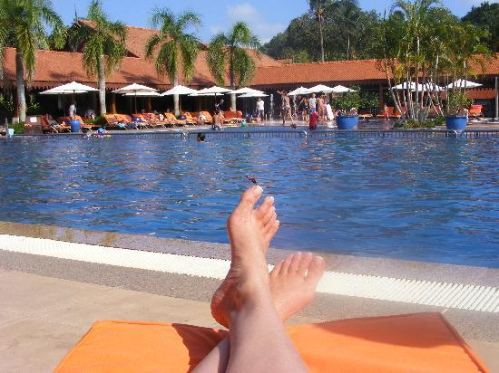 Club Med Cherating Beach: Pool Area