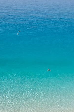 The brilliant water at Porto Katsiki