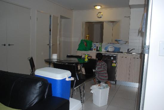 Whalecove Resort: kitchen