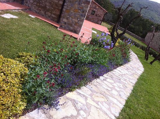 Casalta di Pesa: giardino