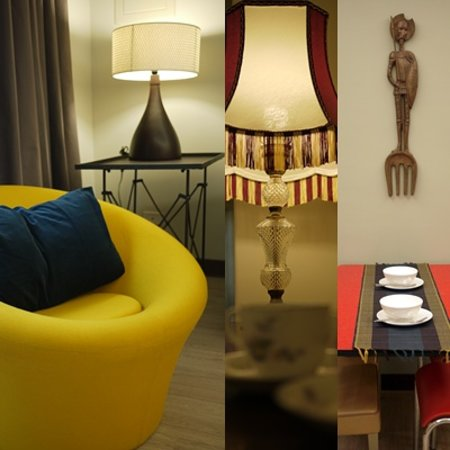 Deb's Business Serviced Apartment : Excellent 3 bedrooms with high quality interior design.